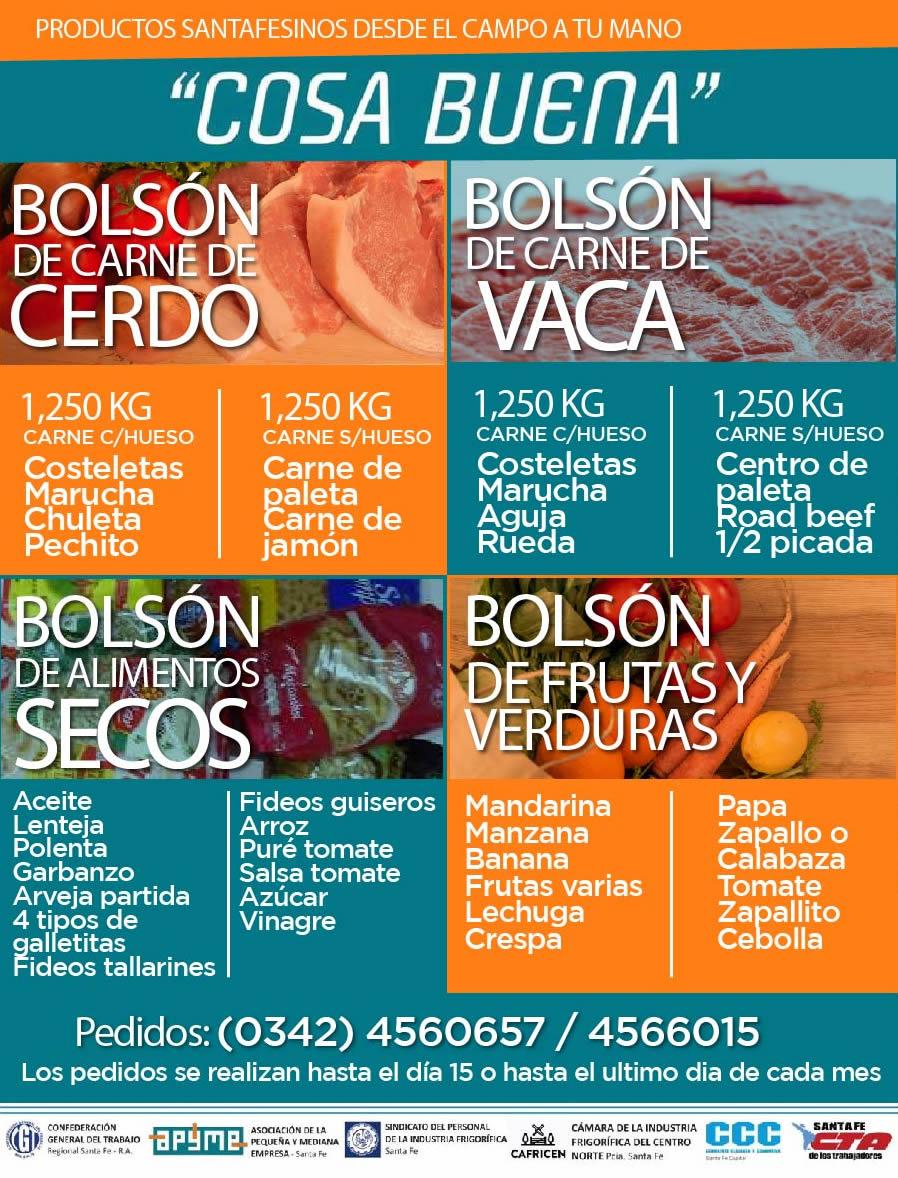 BOLSÓNES DE COMIDA
